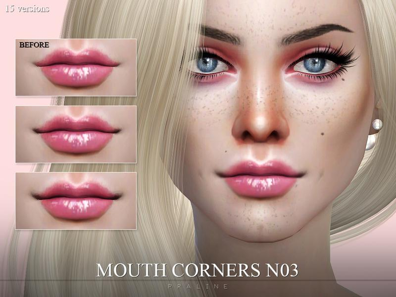 sims 4 maquillaje